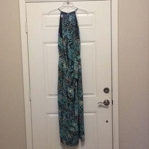 Tropical print dresss
